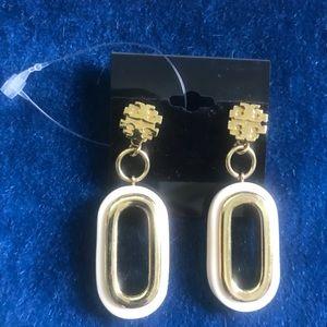 Tory Burch showroom jewelry